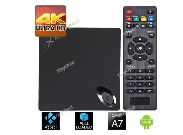 X2 TV Box превръща телевизора в мултимедиен център за развлечение