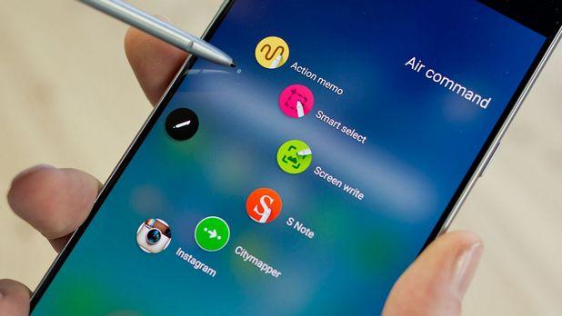 Бракът при новия смартфон Galaxy Note7 може да достигне 0,1%
