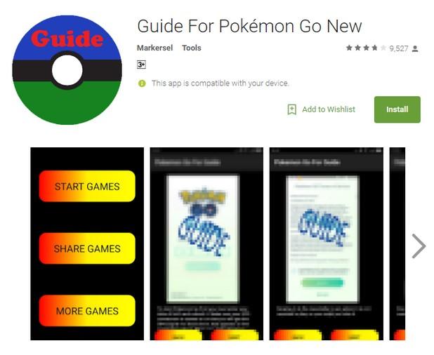 Опасният троянец се разпространява под името Guide for Pokemon GO