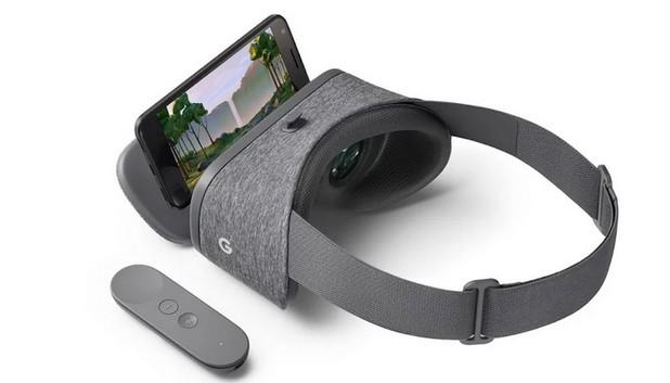 Daydream View се явява опростен вариант на VR гарнитура, която се закрепва към смартфона