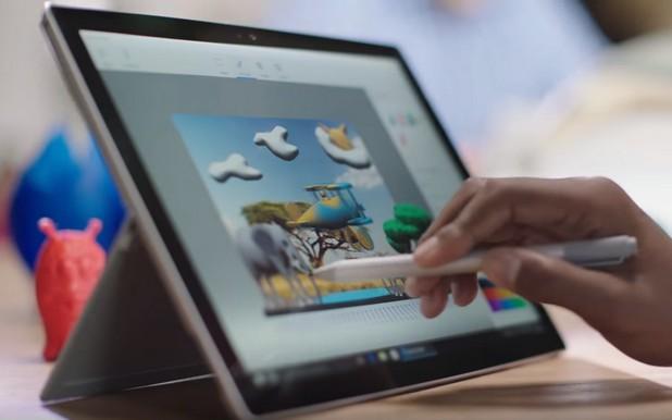 Windows 10 Creators Update включва нова версия на Paint, която позволява създаване на 3D графика
