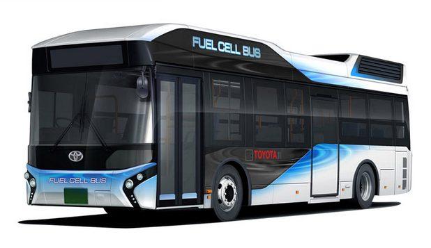 100 броя водородни автобуси FC Bus ще бъдат в движение до началото на Олимпийските игри в Токио през 2020 г.