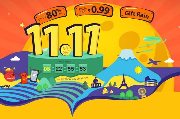 """В рамките на кампанията """"11.Global Shopping Festival"""" онлайн магазинът GearBest.com предлага продукти с отстъпки до 80%"""