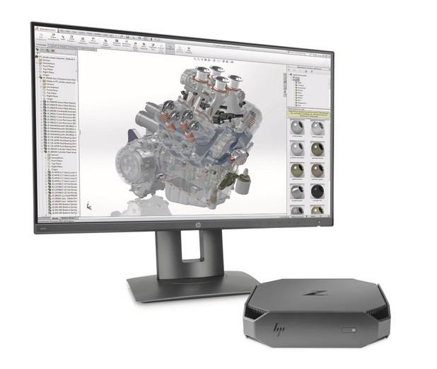 HP Z2 Mini е в състояние да проектира всичко от най-съвременната електроника до домове и цели офис сгради