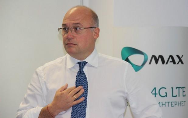 """""""Целта ни е да пуснем първата в България търговски достъпна LTE-Advanced мрежа"""", заяви изпълнителният директор на Макс - Нейчо Величков."""