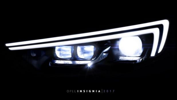 Адаптивните матрични предни светлини IntelliLux LED на новата Insignia са в състояние да предложат още по-интензивен поток от ярка светлина
