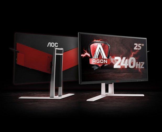 Моделът AGON AG251FZ изобилства от уникални геймърски функции
