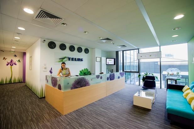 В българския офис на TELUS International Europe – където работят над 2 500 души
