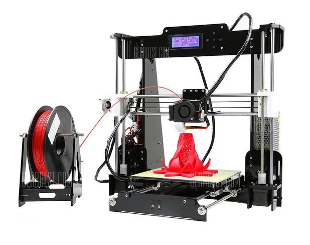 Anet A8 Desktop 3D Printer може да се ползва за широка гама приложения, вкл. професионални и любителски