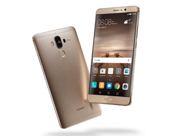 В изработката на Huawei Mate 9 са използвани най-фините материали