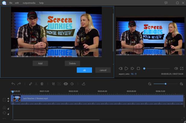 Apowersoft Video Editor има модерен интерфейс, в крак с последните тенденции в дизайна
