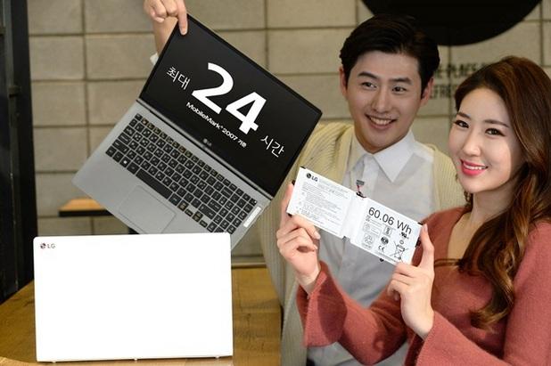 13,3-инчовият ноутбук LG All Day Gram може да работи цяло денонощие на батерия