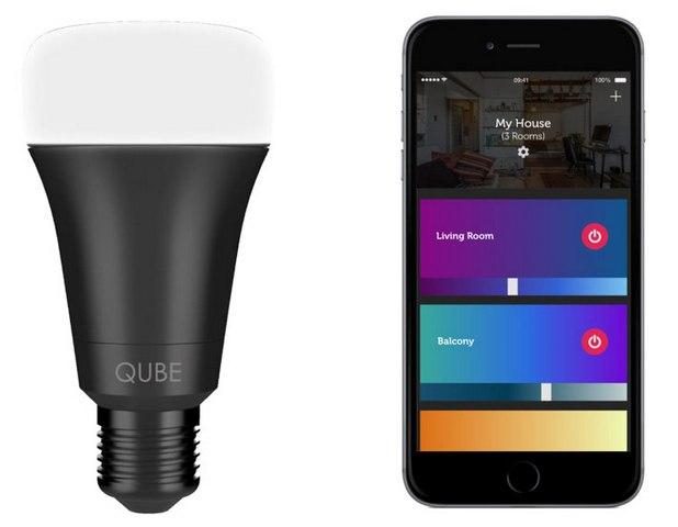 Qube се управлява удобно от смартфон с мобилно приложение