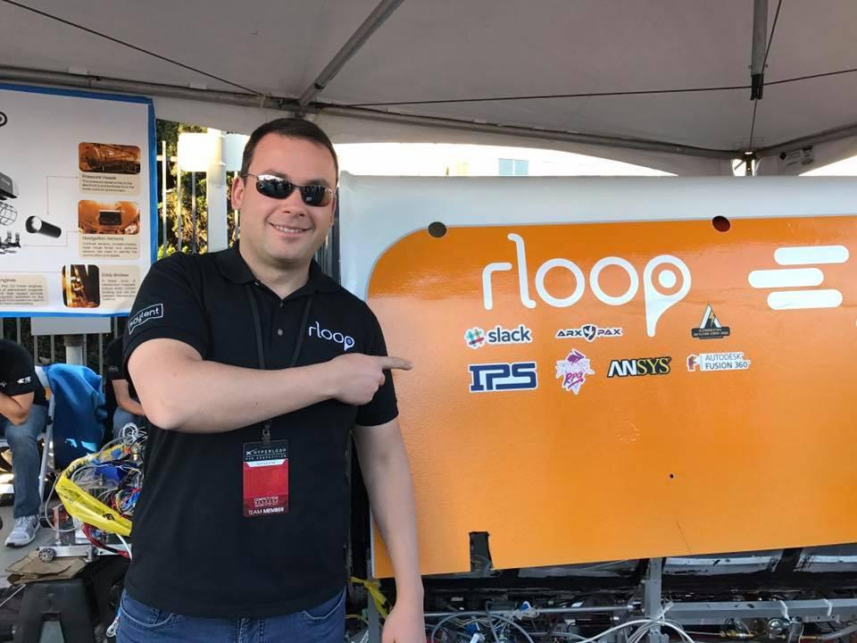 """""""Приказка и сбъдната малка мечта на един инженер"""" - Александър Рангелов с капсулата rLoop."""
