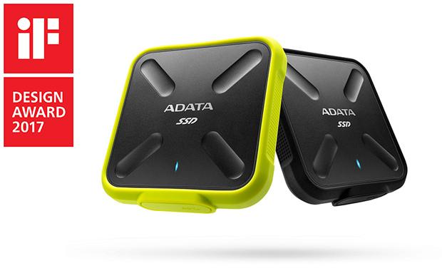 Многослойният защитен корпус и липса на каквито и да е движещи се части правят Adata SD700 идеален за съхранение на информация дори при екстремни активности